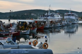 Amaliapolis, punctul de plecare către Skiathos