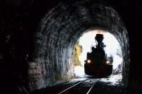 În tunel
