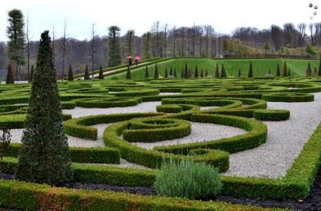 Grădinile castelului