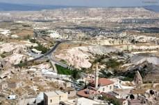 Cum se vede din cel mai înalt punct al Cappadociei