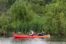 Cu canoea prin Delta Neajlovului