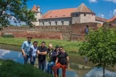 La Cetatea Făgărașului