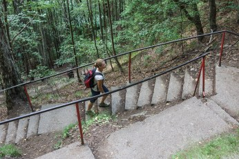 Urcând cele 1480 de trepte