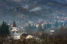 Sfârșit de iarnă la Slănic Prahova