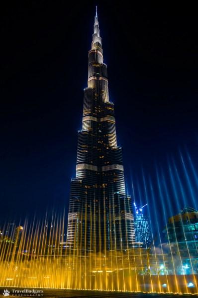 Burj Khalifa & Dubai Fountains