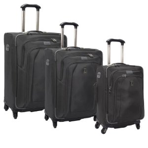 travelpro crew 9 3 piece spinner set review