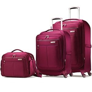 Samsonite MightLight 21 inch and 25 inch Spinners and Boarding Bag Set