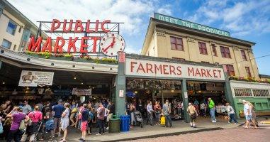 קולינריה אמריקאית במיטבה  The 10 best food halls in America