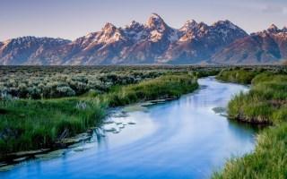 הפארק הלאומי גרנד טיטון  Grand Teton National Park