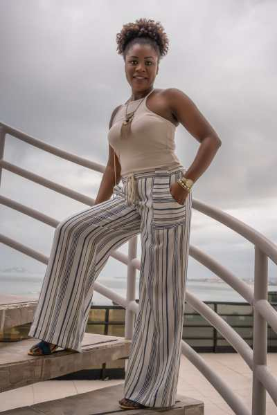 5 Cheap And Fun Things To Do In The Summer | Stripe Pants | Wide Leg Pants | Palazzo Pants | Warm Tones | Summer Fashion