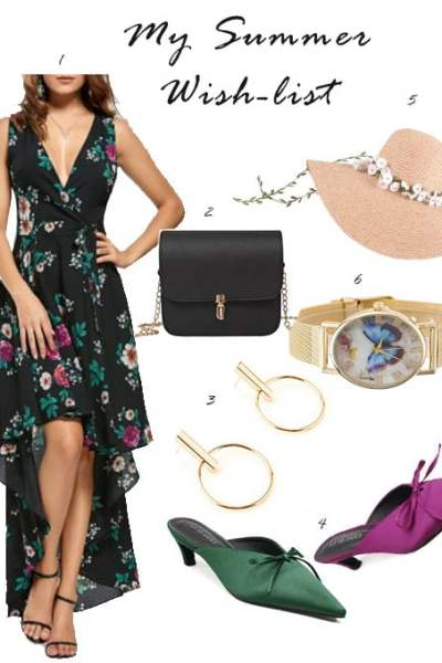 More Things To Complete My Summer Wish-list | Shopping | Floral Print Dress | High Low Dress | Maxi Dress | Travel Beauty Blog