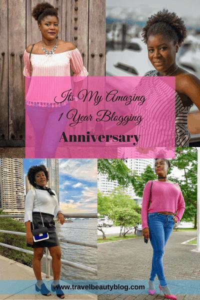 Anniversary | Its My Amazing One Year Blogging Anniversary | Blogging | Blogger | Travel Blog | Beauty Blog | Fashion Blog | Travel Beauty Blog