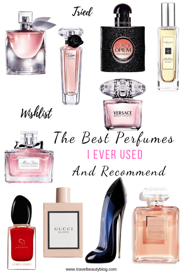 The Best Perfumes I Ever Used And Recommend | Travel Beauty Blog | Perfume Review | Spring Fragrances | Women Perfume | Designer Perfumes | Beauty Blogger | Designer Perfume | Designer Fragrances | Sale | Shopping | Gifts For Her