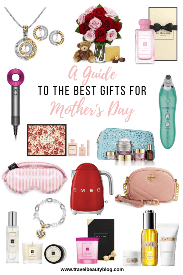 Mothers Day Gift Guide | Best Gifts For Mothers Day | Travel Beauty Blog