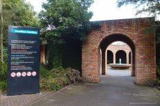 Entrance to Hamilton Gardens - Heading towards the Paradis Collection