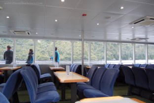 Doubtful Sound Cruise's lowest deck
