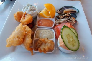 An assortment of seafood