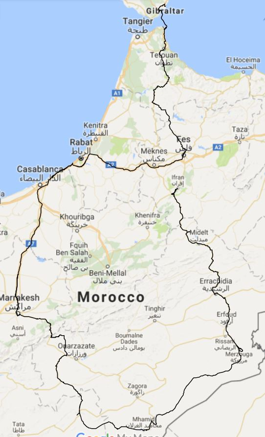 Trip part 3 - Morocco