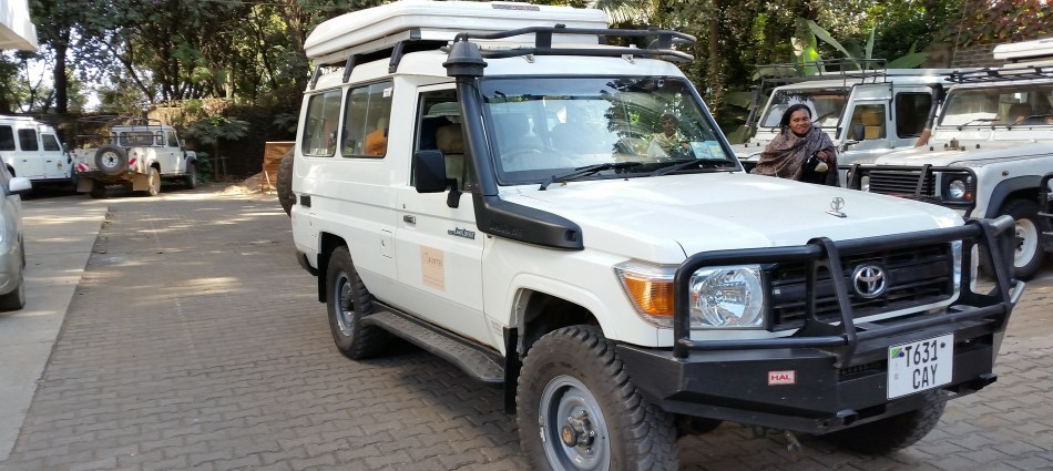 Welcome to Tanzania - or the one packing the Land cruiser