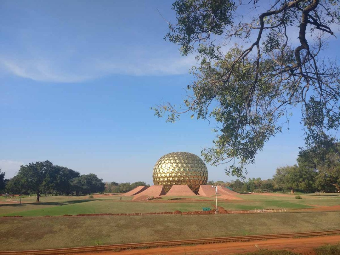Matri Mandir - The soul of Auroville