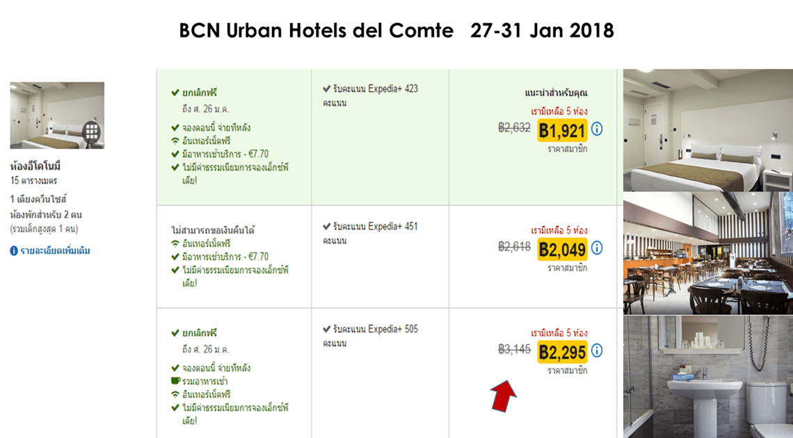 Dream Destination Spain - BCN Urban Hotels del Comte Barcelona