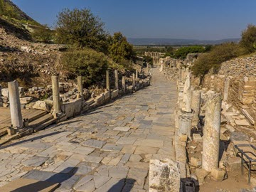 Dream Destination Turkey Day 2 - Ephesus Curetes way