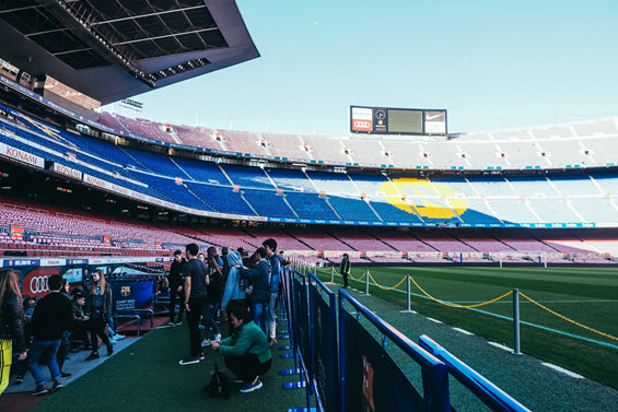 Dream Destination Spain - Day 5 - Barcelona - Camp Nou 3