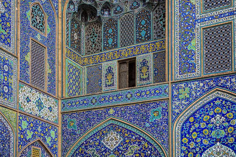 Attractions in Isfahan, Iran