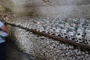 Skulls in Beinhaus