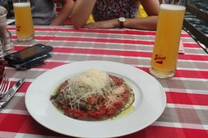 Spinach Tomato Strudel