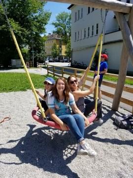 Swings at Rodelbahn