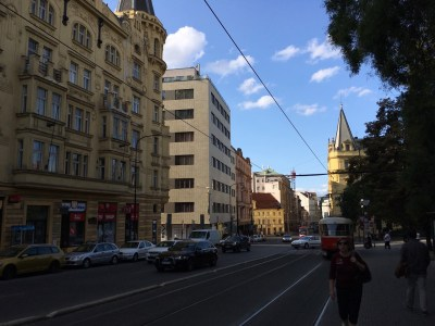 Streetview in Prague