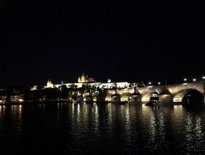 Vltava River at Night