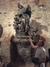 Václav Havel Statue