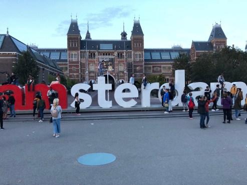amsterdam sign
