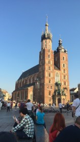 One of the most beautiful Catholic churches is St. Mary's Basilica in Krakow, Poland