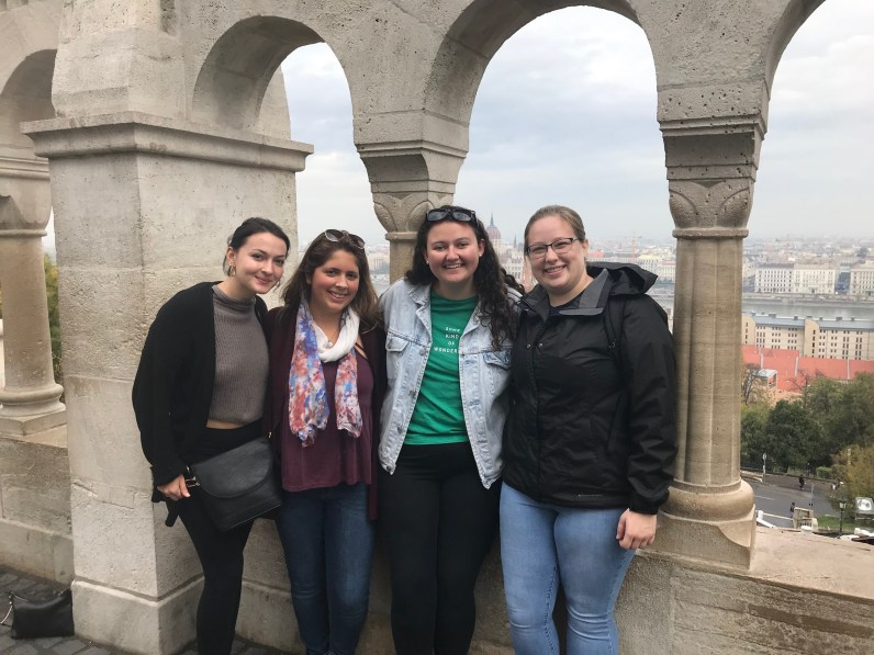Enjoying our girls weekend in Budapest, Hungary!