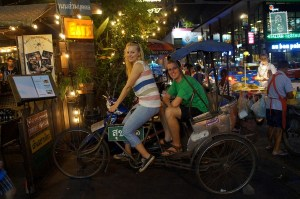 Agness and Cez in Bangkok, Thailand