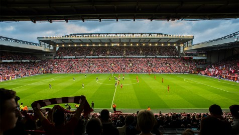 Anfield the home of Liverpool FC