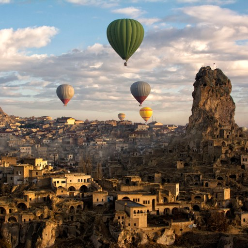 Hot Air Balloon ride in Cappadocia, Turkey one of our favorite travel memories