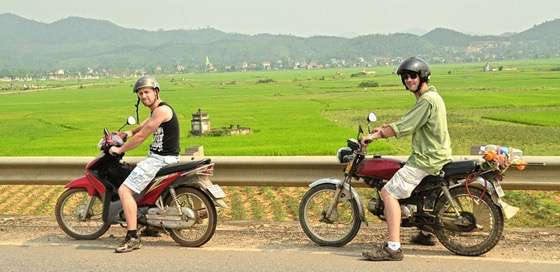 Motorcycling the Ho Chi Minh Trail through northern Vietnam with a random new friend