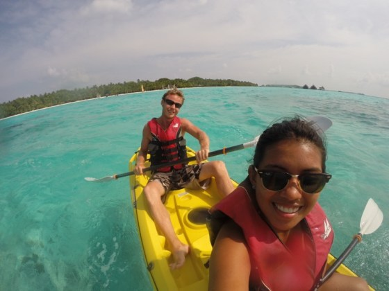 Kayaking in the Maldives Two Monkeys Travel Group