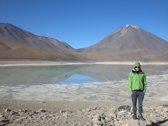 Laguna Verde, Bolivia by Claudia Tavani of My Adventures Across The World