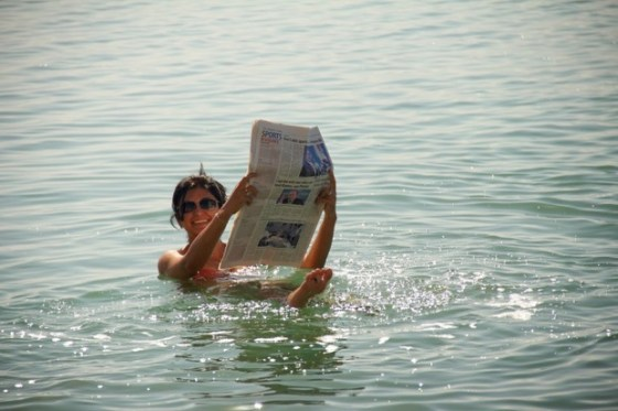 Floating on the Dead Sea - Bucket list ticked
