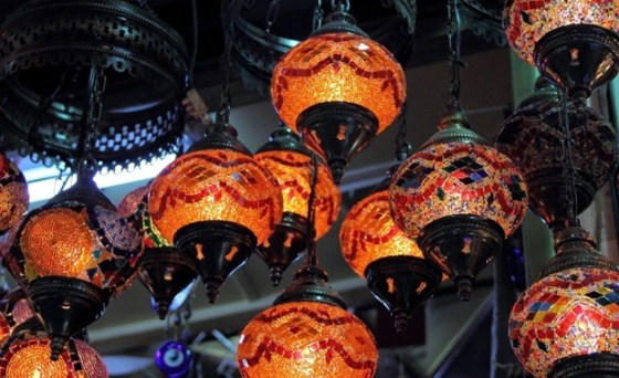 Turkish Lamps in Istanbul - ticking the bucket list with Sonia and Ankur