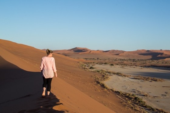 Walking through the oldest desert in the world by Tracey Pictor Of Journal Of A City Girl