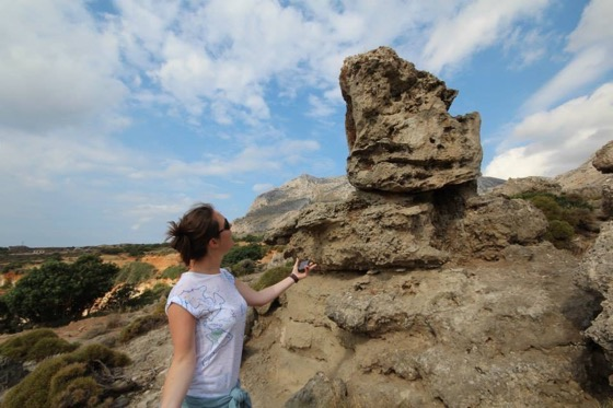 More to Greece than beaches and nightclubs – here's a fossil forest found by Anna Parker