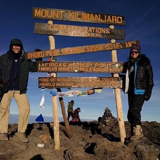 Kilimanjaro with Frank and Cathy of RoarLoud