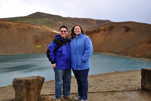 As working professionals, sometimes vacations come in the off-season. During our visit to Iceland's Krafla volcano, it snowed. Iceland Krafla Travel Addicts