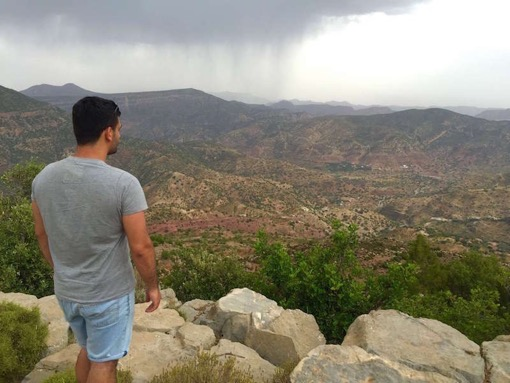 Fabio Meets World at the Atlas Mountains Agadir